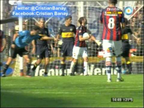 San Lorenzo 3 Boca 0 (Relato Mariano Closs) Torneo Final 2013 (11/5/2013)