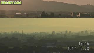 ITM SKY CAM-ANA JA802A鯖次郎最後のフェリーフライト 2017/9/28