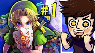 Legend of Zelda Majora's Mask 3D! (Part 1) - PeebLive