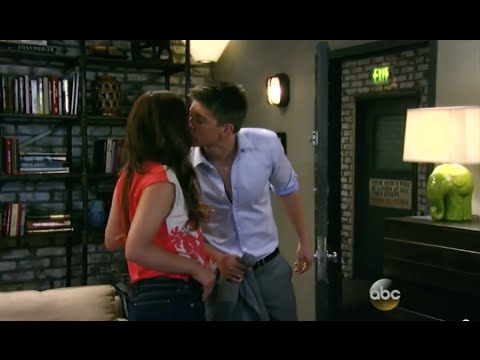 ~GH~ Counting kisses with Michael and Sabrina