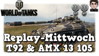World of Tanks - T92 & AMX 13 105, beste Spotting Karten in World of Tanks [deutsch | Replay]