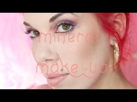 Mineral Make-up♡Trucco tutto minerale!♡