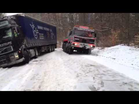 Wintereinsatz Tatra 813 artgerechte Haltung