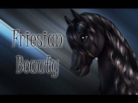 Star Stable Online - Friesian Beauty