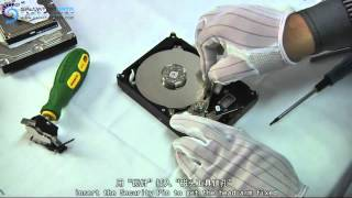 Head replacement for Seagate 7200 Hard Disk? Check the EASIST&QUICKEST way to do it.