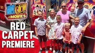 Red Carpet Teen Titans Go Movie World Premiere || Mommy Monday