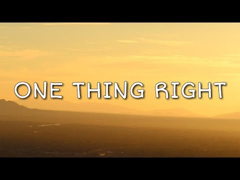 Download Lagu  Marshmello & Kane Brown - One Thing Right s Mp3 Free