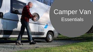 Camper Van Essentials: What I wish I'd known, & useful accessories