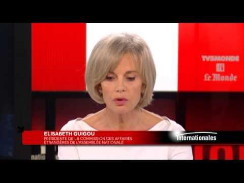 Elisabeth Guigou considère que Netanyahou s'oppose à la création de deux états