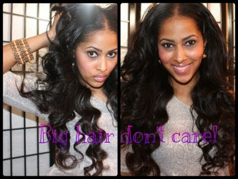 LILLY GHALICHI INSPIRED HAIR TUTORIAL| BIG SEXY HAIR!!