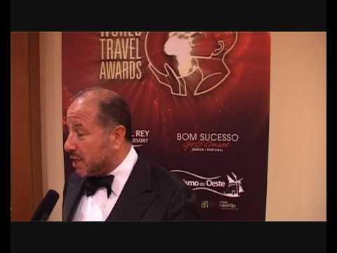Stuart Swycher, Owner and President of the Resort, Praia D'El Rey Marriott Golf & Beach Resort @ WTA