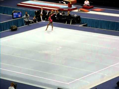 Danusia Francis - NEW ROUTINE - British Championships 2011 - Floor EF