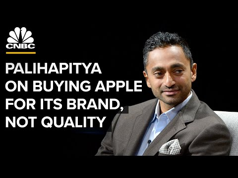 Chamath Palihapitiya: Apple Is 'No Different Than Louis Vuitton Or Any Other Luxury Good' | CNBC