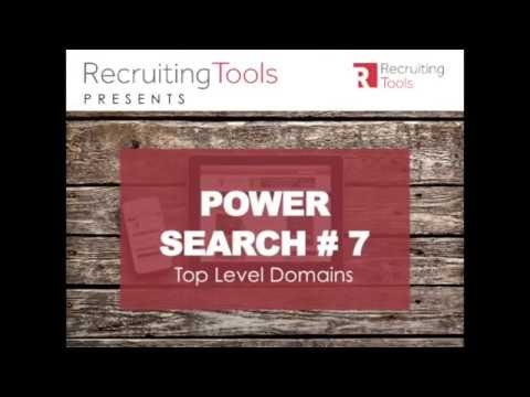 Power Search #7 Top Level Domain Search