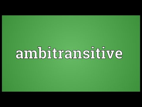 Header of Ambitransitive