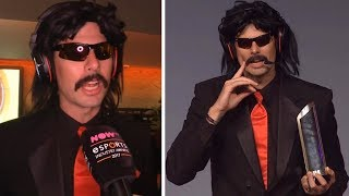 DrDisRespect's Best Moments at Esports Awards Ceremony!