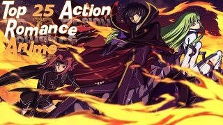 Top 25 Action Romance Anime