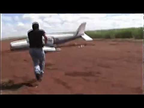 Brazilian Federal Police Ram Plane With Car