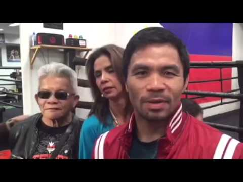 Pacquiao thanks the Inquirer