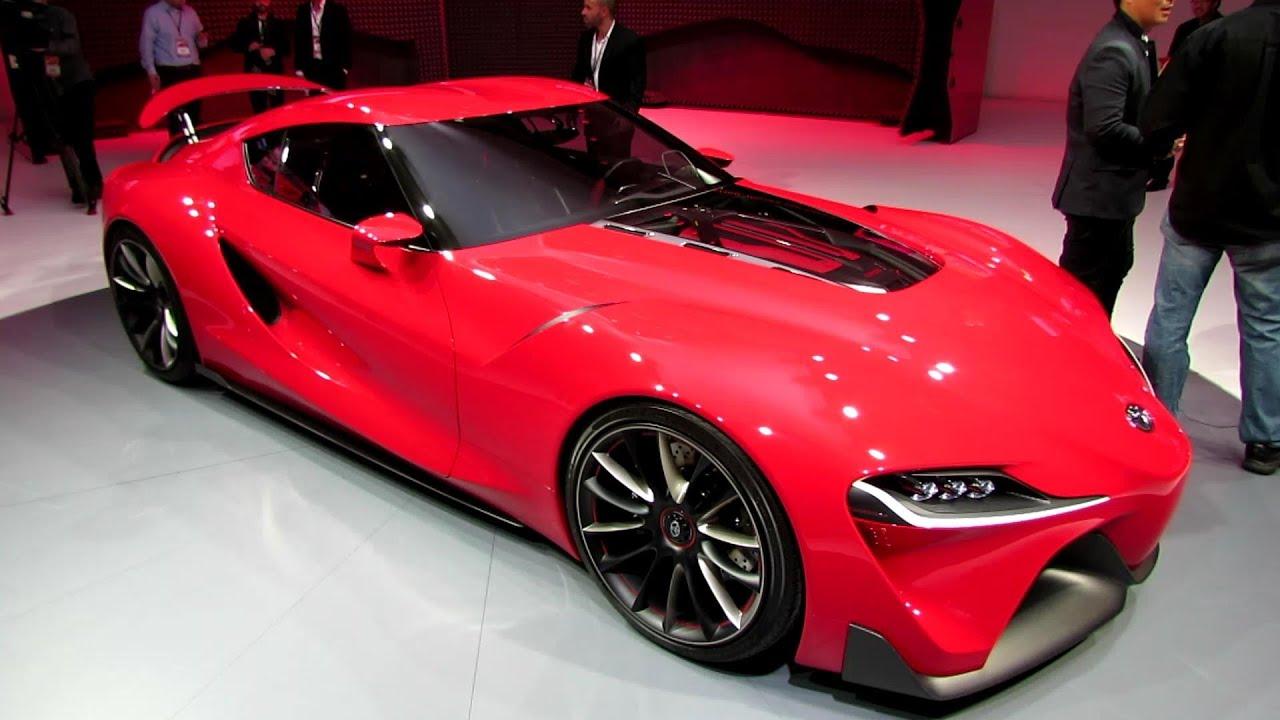 2015 Toyota Ft1 Concept Exterior And Interior Walkaround