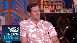 Armie Hammer On Johnny Depp's Eccentricities | WWHL