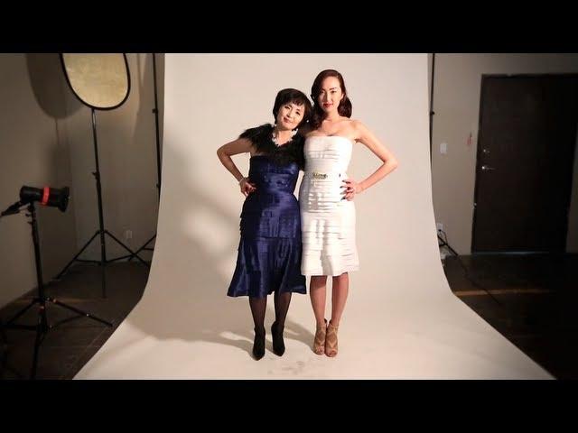 Timeless & Glamorous Fashion With Mama Lim & Tadashi Shoji