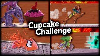 [SSBU] Who can reach Ridley's cupcake?!