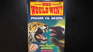 Who Would Win?Jaguar vs. Skunk