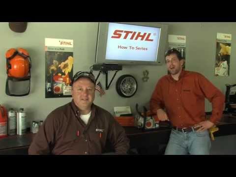 How to Start Your STIHL Chainsaw
