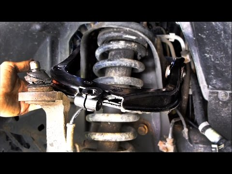 How to Replace an Upper Control Arm (Chevy Trailblazer and GMC Envoy)
