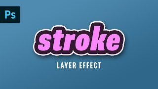 Multiple Stroke Layer Effect | Photoshop Tutorial