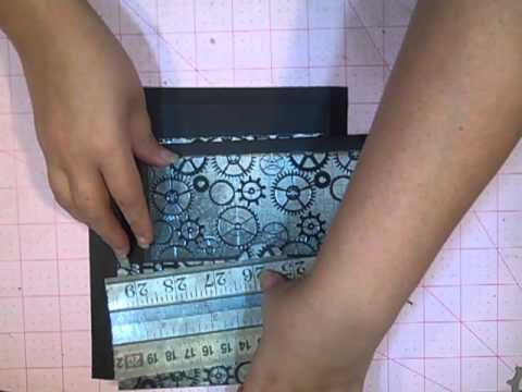 Duct Tape Closure & New Mini Album insert Tutorial