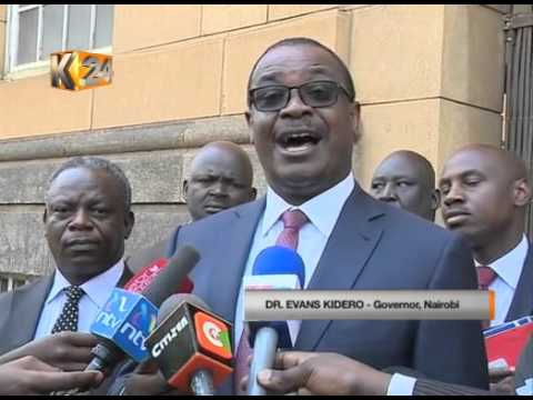 Nairobi Governor quizzed by JSC team over bribery scam