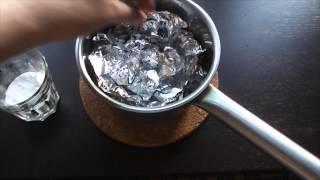 Чем в домашних условиях отполировать серебро в домашних условиях