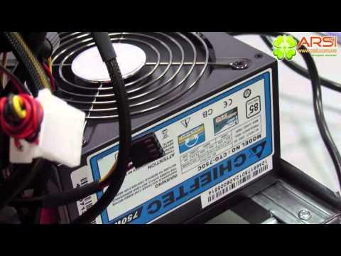 Bitcoin Mining Rig 5x Radeon HD7950 ферма для майнинга биткоинов обзор / review