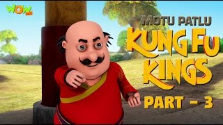 Motu Patlu Kung Fu Kings -Part 03 | Movie| Movie Mania - 1 Movie Everyday | Wowkidz