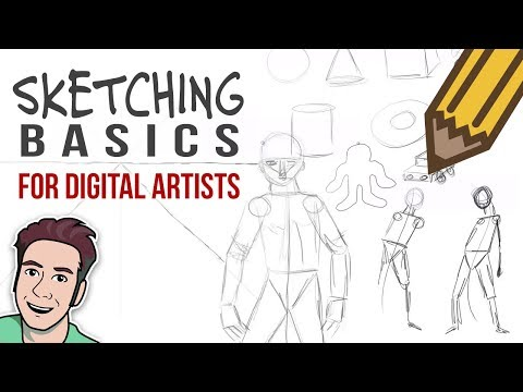 Basics of Sketching with Corel Painter