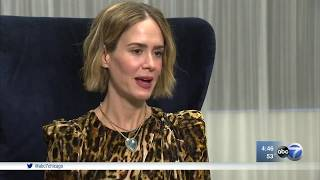 Sarah Paulson appears at Steppenwolf's Women in the Arts luncheon