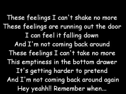0 Remember When   Avril Lavigne (lyrics)