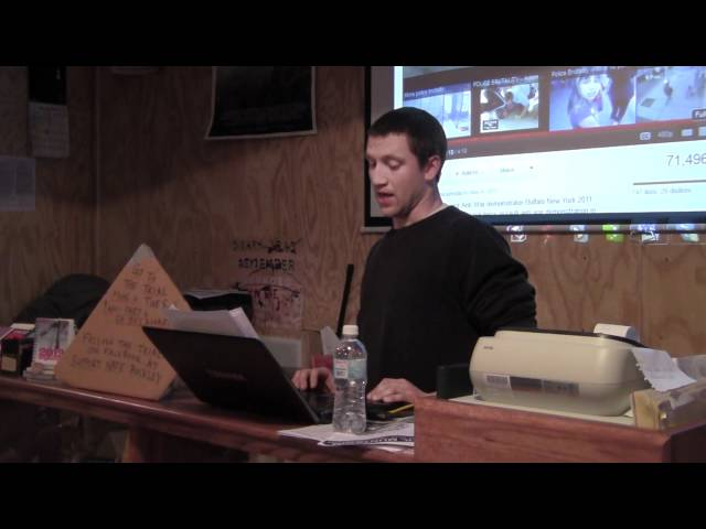 Justice For Nate Buckley @ Burning Books - Buffalo, NY (2012-01-04): Part 1