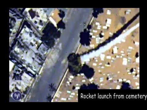 Hamas' favorite spots: schools, hospitals & cemeteries