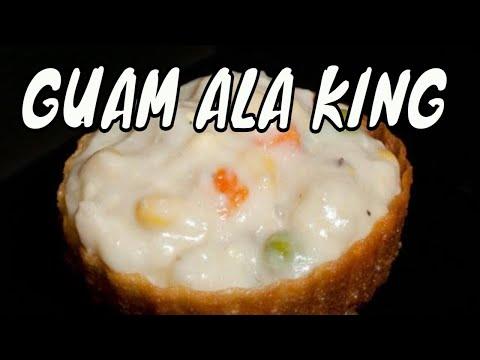 Chicken ala king pastry cups