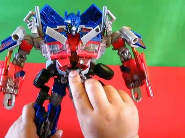 COMO TRANSFORMAR A OPTIMUS PRIME LIDER