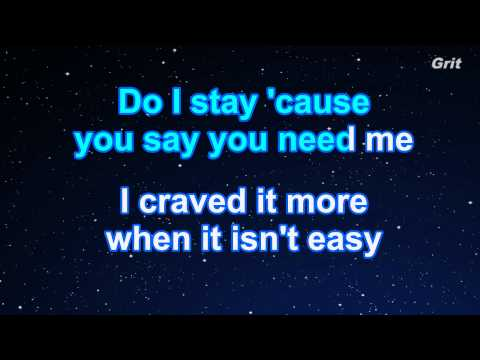 Get Away - Jessie J Karaoke【No Guide Melody】