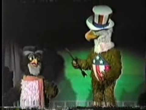 America sings 1986 Video Clip Walt Disney Disneyland California Hbvideos Cooldisneylandvideos