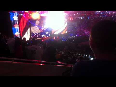National Anthem at Summerslam, played by Adam Jones