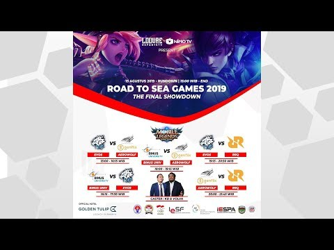 Road to SEAGAMES 2019 - The Final Show Down [MLBB] day 1