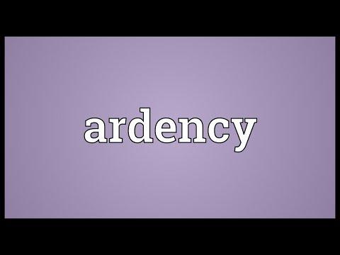 Header of ardency