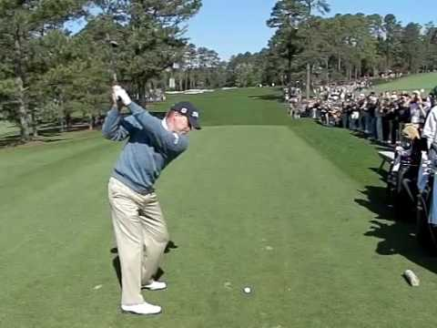 STEVE STRICKER SLOW MOTION 3RD HOLE MASTERS 2009 2 Video