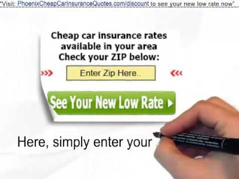 Auto Insurance Quotes Phoenix | Get Discounted Auto Insurance In Phoenix -- Save $100's